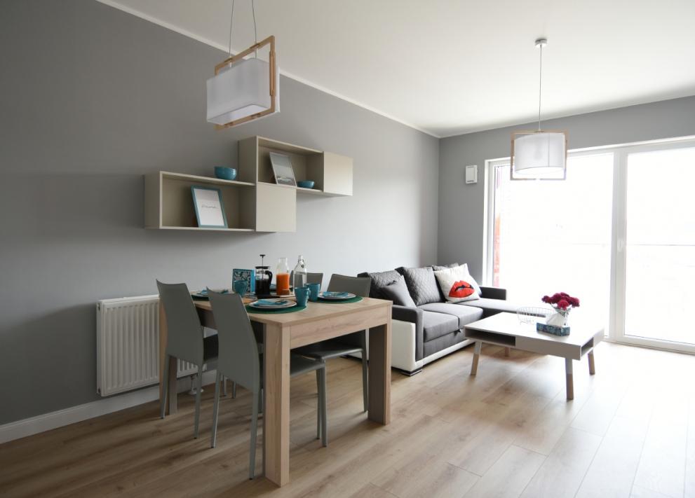 Zajezdnia Poznań - Apartament Popielaty