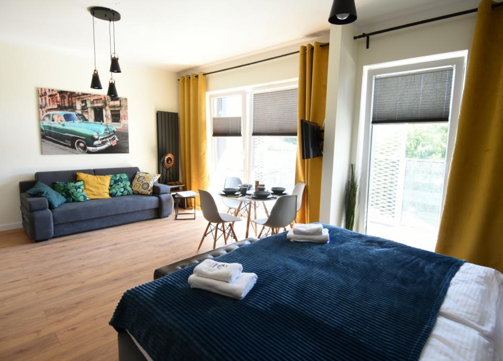Zajezdnia Poznań - Apartament Kubański