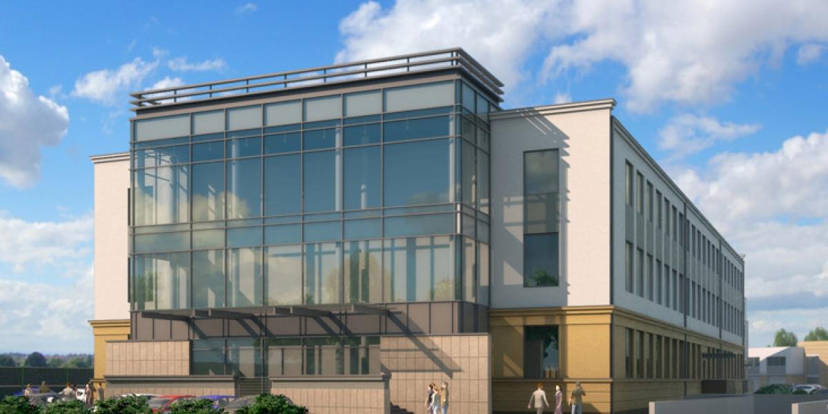 Biuro na potrzeby obsługi programu 500+ w Centrum Biurowym Podwale w Poznaniu.