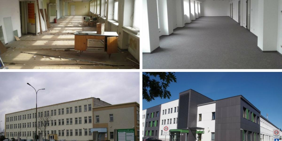 Zakończyła się modernizacja obiektu biurowo-magazynowego Grunwald Business Park w Poznaniu.