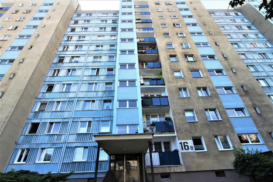 Mieszkanie 3-pokojowe Poznań Dębiec 46 m<sup>2</sup>