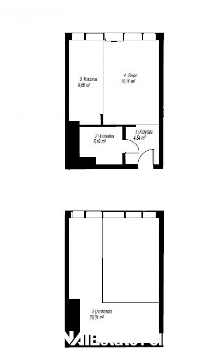 Mieszkanie 2-pokojowe Poznań-jeżyce 55 m<sup>2</sup>